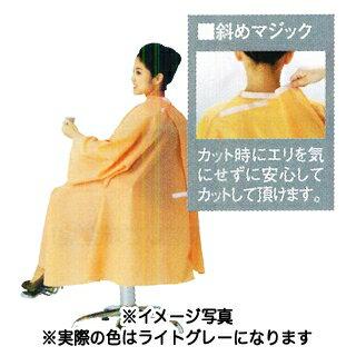 シワシワルック カラードレス bigサイズ ライトグレー