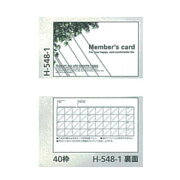 そのままタイプ カード 100 H-548-1 100枚
