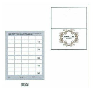 ポイントカード2ツ折りタイプ PCA-003(100枚入)