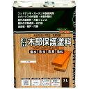 【あす楽対応・送料無料】ニッペホームプロダクツ油性木部保護塗料 3Lケヤキ