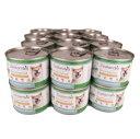 【送料無料】総合栄養食缶 ドックフード ジーランディア ドッグ キングサーモン&ホキ 185g [24缶セット] 【犬/ドックフード/ウェットフード/トライプ/穀物不使用】