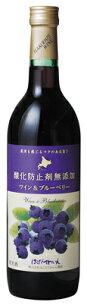 ブルーベリー ミディアム・ 赤ワイン