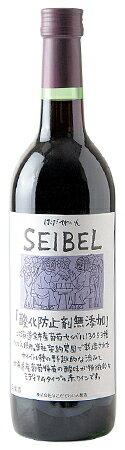 「無添加セイベル13053 赤」はこだてわいん(函館ワイン)10P06Aug16