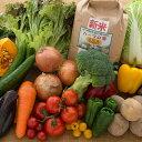 有機玄米と野菜のギフト