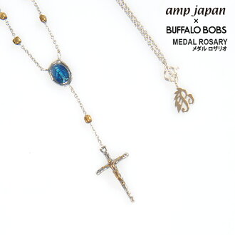BUFFALO BOBS×amp japan EPOXY MEDAL ROSARY放大器日本注釋羅薩裏奥項鏈(2COLOR))