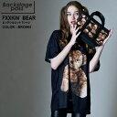 BACKSTAGE PASS バックステージパス BUFFALO BOBS バッファローボブズ FXXKIN'BEAR(フ××キン ベアー)テディベア ビッグサイズ Tシャツ