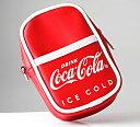 コークレッドのボディとロゴがかなりオシャレ!Coca Cola コカコーラ マルチポーチ カラビナ付
