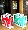 ビーチやプールやお買い物に♪!!Coca Cola コカコーラ ミニトート