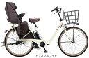 【完全組み立て済み】【純正幼児用ヘルメット プレゼント】【2018年モデル】【3人乗り対応】【自転車 子供乗せ】【電動自転車】パナソニックギュット・アニーズF・DX