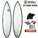 ◆激得◆ショートボード6'0 BP●サーフボード【SCELL】 サーフィン【希望小売価格の55%OFF】