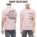 ヌーディージーンズ 【Nudie Jeans】 Tシャツ KURT FACTS NOT STORIES