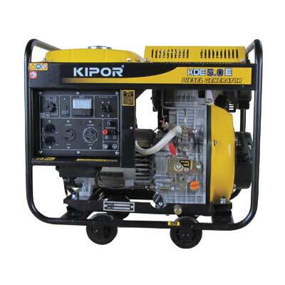 ディーゼルエンジン発電機60KDE50E(60Hz)送料無料発電機工具電動工具DIYディーゼルエンジ