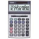 [カシオ]ジャストタイプ電卓 JS-100W-N[R品・カシオによる再生品]エコロジー設計の本格実務電卓。