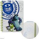 モンスターズ・ユニバーシティ Wリングノート B6 MU M&S 4901770400204 【Disneyzone】