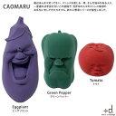 CAOMARU<カオマル> リニューアル 全3パターン 野菜 シリコーン D-842-ecm
