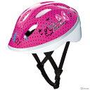 ミニーマウス アイデス<ides> キッズヘルメット<子供用> S 自転車・三輪車用 ピンク 01982【Disneyzone】