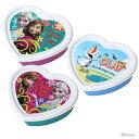 アナと雪の女王 ダイカットシール容器 3Pセット <弁当箱・ランチボックス> 300ml DSC3 【disneyzone】[Jitsu160712A]