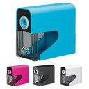 アスカ 乾電池式電動シャープナー<電動鉛筆削り器> 4カラー dps30-ask