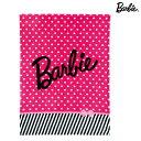 【送料無料・同梱不可】Barbie<バービー> ハーフ毛布 タイニードット柄 7485000100