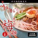 紀州南高梅使用 韓国風 梅冷麺 4食スープ付【国産】ネコポス便【全国送料無料】麺にも