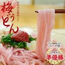 梅うどん 4食スープ付(お出汁選べる!)\全国送料無料/【食品ランキングデイリー1位獲得】うどん日本一決定戦 味評価全国二位!ネコポスお届け。