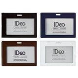 コクヨ 牛革製ネームカードケース「IDeo HUBSTYLE」名刺・IDカード用/ヨコ【daily-toku-autumn】