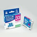 【ジットサプライ】ICM33エプソン対応 再生リサイクルインクカートリッジ(マゼンタ)JIT-E33M インクジェットプリンタ用 年賀状 印刷 【D】05P18Jun16