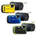 防水カメラ XP120YW送料無料 デジタルカメラ カメラ 写真 防水 フジフイルム イエロー・ブルー・ライム【D】