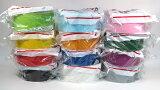 ガムテープバッグ作りに最適な、カラフルな布粘着テープです。積水化学工業 カラー布ガムテープ