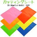 中川ケミカル カッティングシート 22cm×30cmカット 1枚売り 全6色【ネコポスも対応】 *