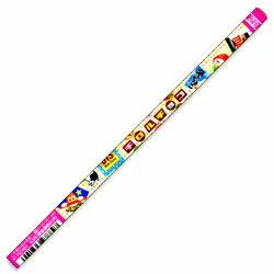 お菓子の書き心地 サカモト チロルチョコ丸軸鉛筆2B