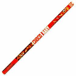 お菓子の書き心地 サカモト チョコベビー六角軸鉛筆2B