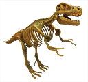 骨のパズルを組み立てると 本格的な化石の恐竜が出来上がります ビバリー 3D恐竜パズル ミニ ティラノサウルス