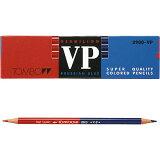 トンボ 色鉛筆(朱藍) 赤青鉛筆