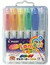 PILOT(パイロット社)Gel marker(ゲルマーカー)ラメ入りカラー 6色セット