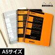 ロディア RHODIA クラシックミーティングブック【デザイン文具】【デザイン おしゃれ】【ノート A5】【リングノート】