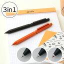 【名入れ 無料】 ロディア RHODIA スクリプトマルチペン scRopt MULTI PEN 3in1 多機能ペン