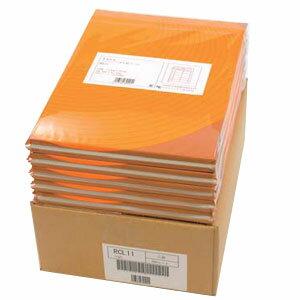 ナナフォーム マルチタイプ再生紙ラベル A4 10面 RCL-43 【送料無料】