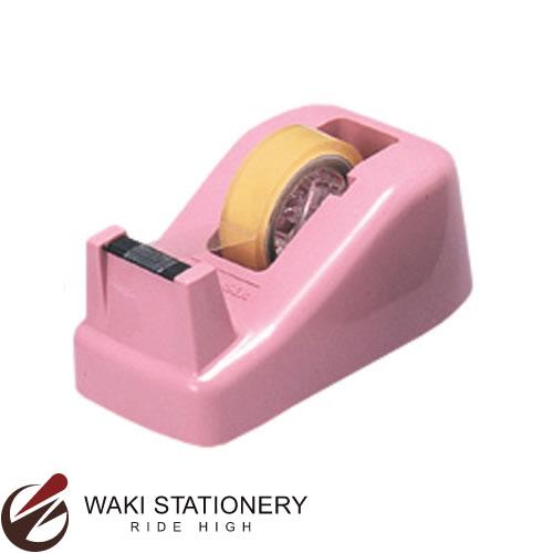 オープン ミニテープカッター(テープ付) 桃 TD-20-PK