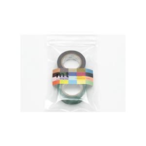 カモ井加工紙 mt マスキングテープ 無地 新商品 2P ココア×ピーコック MT02P093