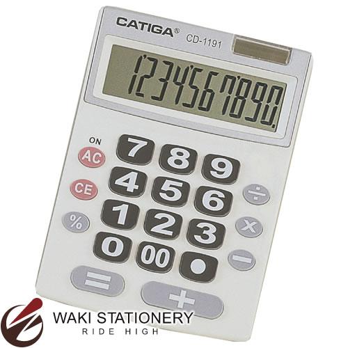スガタ 電卓 デスクタイプ 10桁 CD1191の商品画像