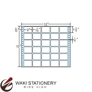 ナナフォーム ナナフォーム 連続ラベル Mタイプ 12×10インチ 30面 (500折) MX12A 【送料無料】