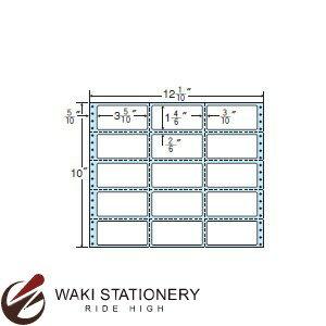 ナナフォーム ナナフォーム 連続ラベル Mタイプ 12(1・10)×10インチ 15面 (500折) MX12V 【送料無料】
