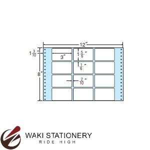ナナフォーム ナナフォーム 連続ラベル Mタイプ 12×8インチ 12面 (500折) M12X 【送料無料】