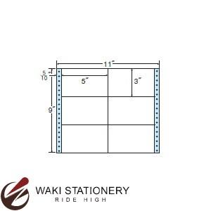 ナナフォーム ナナフォーム 連続ラベル Mタイプ 11×9インチ 6面 (500折) M11A 【送料無料】