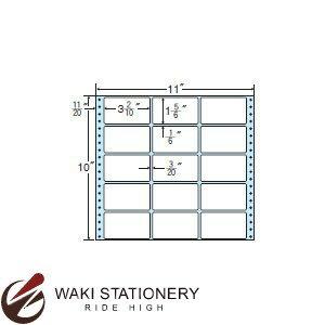 ナナフォーム ナナフォーム 連続ラベル Mタイプ 11×10インチ 15面 (500折) M11E 【送料無料】