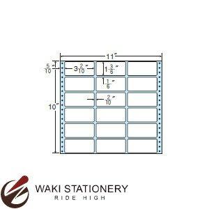 ナナフォーム ナナフォーム 連続ラベル Mタイプ 11×10インチ 18面 (500折) M11G 【送料無料】
