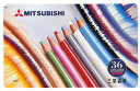 .880 36 colors of Mitsubishi colored pencil sets [free shipping by an email service]