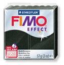 ステッドラー CLAY FIMO オーブンクレイ フィモ エフェクト <パールブラック> 8020-907