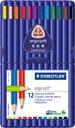 ステッドラー エルゴソフト 色鉛筆 12色セット 157 SB12
